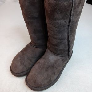 Ugg Classic Tall II winter sheepskin suede Boots 5